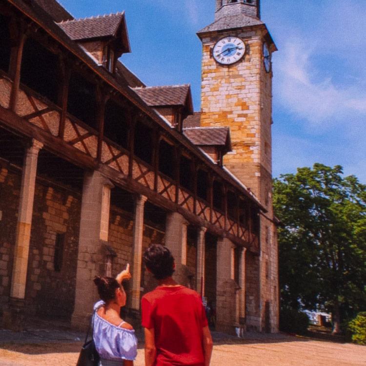 Plaquette de la ville de Montluçon