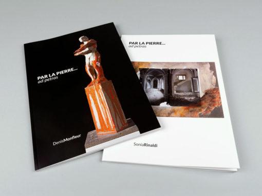 Musée Marcel Sahut – Catalogue d'exposition Denis Monfleur & Sonia Rinaldi
