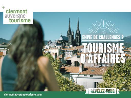 Clermont Auvergne Tourisme – Brochure Tourisme d'Affaires