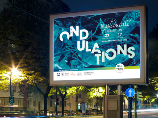 ONDULATIONS – Exposition Marie Ducaté